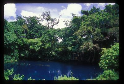 The Blue Lagoon, Espiritu Santo Island, Vanuatu.