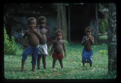 Children, Espiritu Santo Island, Vanuatu.