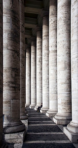 Relaxing, Vatican City.