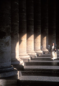 Nun at the Vatican, Vatican City.