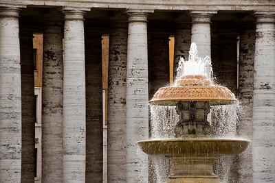 Fountain, Vatican City.