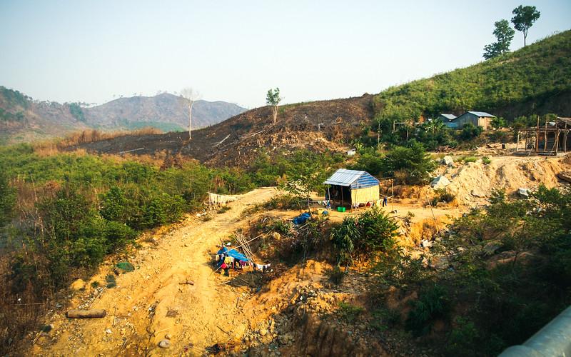 Small Hut on Dusty Hill