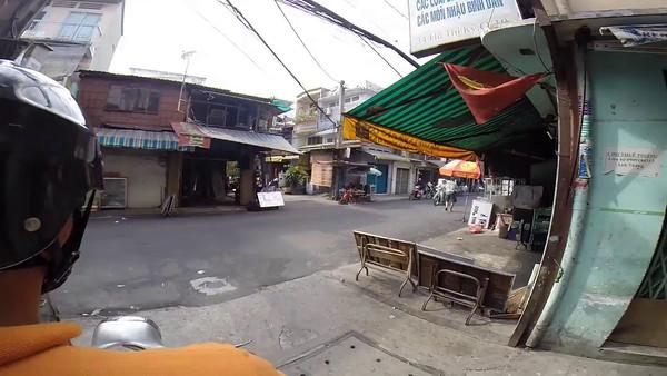 Take a five minute ride through Saigon