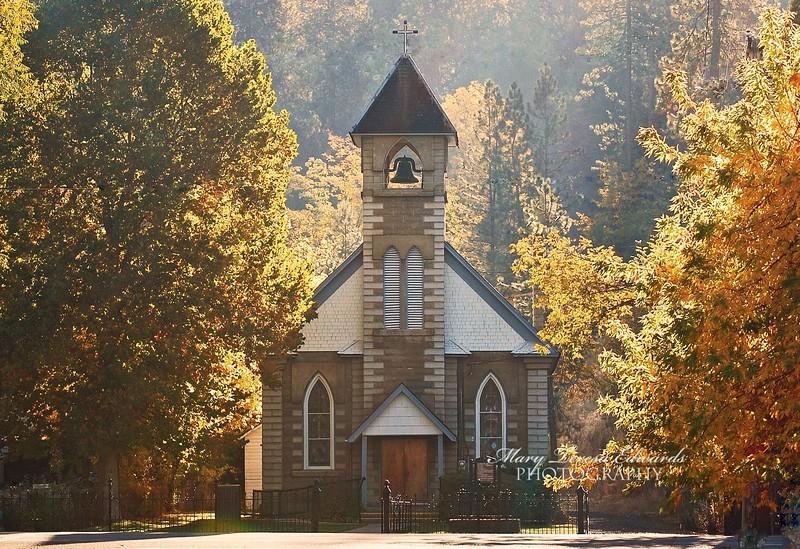 Sacred Heart Church in Glorious Light