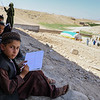 Students are attending the mid-year exams in Charmgar secondary school in Trin Not, Uruzgan. The school was cleared from the Taliban and NRC is rebuilding it. Photo: NRC/Enayatullah Azad