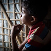 Saifula (8) attends classes to help him through the trauma of attacks in Myanmar