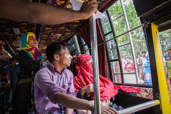 Refugee families move to new homes in Kutupalong refugee camp