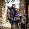 Bandé, a mother of four who just escaped from the besieged town of Mansila