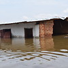 This is one of the 10,000 houses affected by the flooding in the Central African Republic.<br /> <br /> Photo/Chanel Igara/NRC