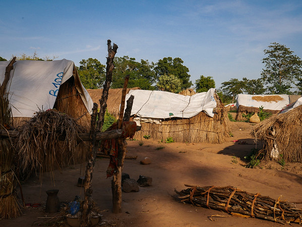 "The camp of Lazare, set up in October 2017, hosts more than 7600 internally displaced persons from and around Kaga Bandoro. This camp was set up to reduce congestion in the ""MINUSCA camp"" set up around the UN Peacekeeping base at the airport."