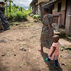 Minette (38) and her little daughter Fevour (2) have fled from Manyu and sought safety in Buea after their home was burned down.  <br /> <br /> Photo: NRC/Tiril Skarstein