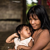 Since October 24, 1142 indigenous (Catru) fled their lands as a result of the murder of a leader. Women are concerned about food, shelter, health and the future of their children. Humanitarian aid is vital.<br /> <br /> Photo credit: NRC / ANA KARINA DELGADO