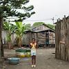 Wendy in her neighborhood Viento Libre