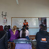Info session in Church in Quito