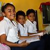 Sandy* (13), Esteban* (9) and Jorge* (10)