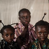 From left: Kamona Jacqueline (4), Banza Felicite (mother, 36) and Kunga Nydia (6).<br /> On the outskirts of Nyunzu village in eastern Congo, stands a small thatched roof church.  Families live on top of each other in appalling squalor. The raw coughs of children are muffled by the rain spitting through the roof. They sleep rough on wet soil, thinly covered by empty sacks of sugar. <br /> <br /> Four people have died since the group fled to this church for safety in September, including two children. This scene is replicated in countless churches across Congo, as a little known conflict is tearing the central African nation apart.<br /> <br /> An upsurge in violence in several parts of DR Congo in 2015, has left over 1.7 million people to flee their homes this year alone; that's over 5,500 people per day. This week the DR Congo was declared the worst affected by displacement in the world by the global analysts, IDMC. Tanganyika province, is one of the hotspots of the current crisis.<br /> <br /> Despite the UN putting the world on notice about Congo's crisis, little has changed since October. Money has only trickled in to help the 13 million people in need. Today the country is the second lowest funded of the world's largest crises - less than half of the US$812 million aid appeal is funded. <br /> <br /> The violence has prevented many families from accessing land and maintaining their livelihoods. 7.7 million people are severely food insecure, up 30 per cent in a year. Lack of access to clean water has led to a cholera outbreak that has killed some 600 people.<br /> <br /> Photos: NRC/Christian Jepsen <br /> Date: 1 December 2017