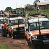 NRC cars heading Mahagi/Ituri
