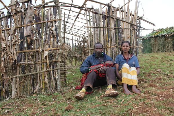 Displaced couple - Ayele and Shubo