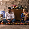 Family displaced from Mosul
