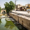 Basra Old city's canal in front of Habib's carpentry.