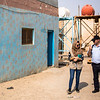 NRC Wash specialists assessing the water facilities in Faihaa school - Basra old city