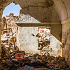 A house in Sinjar destroyed by intense shelling