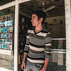 Muhammad infront of his shop <br /> <br /> Photo by : Alan Ayoubi/NRC