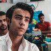 """Muhammad Riyad, 18 from Mosul.<br /> <br /> Muhammad lost two years of school under Islamic State group rule in Mosul.<br /> <br /> """"Life under Islamic State was very difficult, they were killers disguised as religious people. We could not go out because they would always come up with a reason to punish us. There were no job opportunities and I could not attend school,"""" said Muhammad. """"The life of youth now in Mosul is still not easy, there are very few job opportunities,"""" he added.<br /> <br /> Muhammad participated in the mobile maintenance courses at NRC's youth center. """"In the community center they taught me mobile maintenance. I learned many things about mobiles and I was able to open my own mobile maintenance shop,"""" he said.<br /> Muhammad has many hopes for the youth of Mosul.<br /> """"I wish that, in the future, learning and job opportunities become available to all the youth and no one gets left behind anymore,"""" he said.<br /> <br /> Muhammad eventually said, """"In the future, I want to expand my project and open more branches of my shop in other parts of Mosul. I want to create more jobs and help the youth that did not have the chance I had.""""<br /> <br /> Photo: Alan Ayoubi/NRC"""