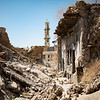 The crumbled streets of west Mosul old city