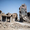 Destroyed habitations in west Mosul - Old city