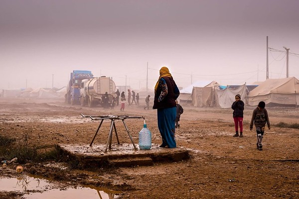 Maha - Hamam al-Alil Camp camp in Mosul