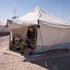 Tent in Kilo 18 camp, Anbar