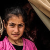 7-year-old Sidra and her family arrived to Iraq from Damascus in March 2013. The family of six lives in on the outskirts of Domiz camp in a tent provided by other refugees. <br /> Photo: Christian Jepsen/NRC