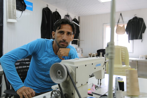 "Anas used to work in tailoring back in Syria, however, he wanted to get a steadier job which led him to join the Syrian army. ""I never thought the army would be a bad idea, people used to join it to have a steady income, not to join wars."""