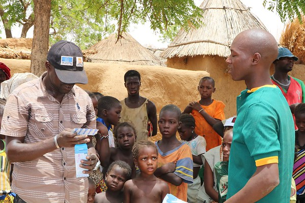 Emergency response in Koro, Mopti, Mali