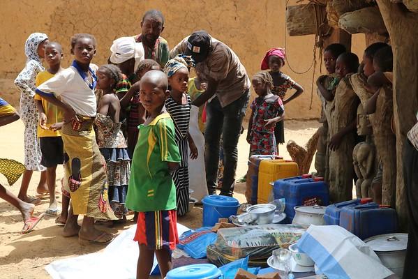 Emergency response in Koro, Mopti, Mali