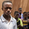 "Hama Djiguiba, a 14 years old student fled his village of Doungourou with his family to Bandiagara town in Mopti region of Mali.<br /> <br /> ""I came here with my mom. We fled the attacks so we wouldn't  be killed. I heard gunshots. And people started to flee, others came in carts and some on foot. Here I need clothes and shoes because when I came I left all my clothes there. I did not bring anything with me.<br /> <br /> Photo Credit: Itunu Kuku/NRC"