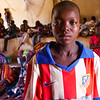 "Ousmane Kene, 12 years old. Fled with his mother Fatoumata Kelipely to Bandiagara. <br /> <br /> ""I saw dead people and i saw others that were injured. I heard gunshots. I was scared and I screamed. Immediately, I went to alert my mother. The only thing I want now is peace. Because, I fled leaving my school and my classmates. I want to go back. ""<br /> <br /> Photo Credit: Itunu Kuku/NRC"