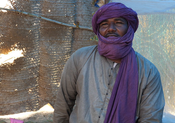 Sandi Ag Mohamed fled Bankass in Mopti region to come to Tina Djorof in Timbuktu region. On March 23 2019, 134 people were killed in a village in the Bankass district where Sandi is from. He decided to leave Bankass to go to Timbuktu.<br /> <br /> 'We fled there because of killings, cattle robberies and the sounds of weapons. Some saw their houses burned, their belongings destroyed. The communities are fighting on one side and on the other side, there are the military and some armed men who are fighting each other. That's why we fled and came here. Along the way, we suffered a lot because we do not have money to take the buses. Some of us had carts and donkeys that they used as a means of transportation. But others have walked days and nights to get here. It was their only option.<br /> Here, we feel really safe and away from all these tragedies. But we have needs, such as shelter, food, clean water, medicine for our patients and a school for our children. <br /> <br /> We do not intend to return there at all until there is peace.<br /> <br /> Photo Credit: Itunu Kuku/NRC