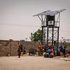 Using Solar Water Pump at Fariya Camp