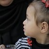 Sima - the 2 1/2 year old daughter of Omar Abu Samour who was killed on 30th of March 2018 in Gaza.