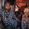 """Abdi Yussuf, 47, lives in a Mogadishu camp for displaced families with his five children. Abdi's wife passed away in January 2017 due to an illness (Abdi is not sure which illness). Shortly after the death of his wife, Abdi and his five children left their home in the Middle Shabelle region in Southern Somalia to seek aid in Mogadishu. Abdi mentions the drought and insecurity as the main reasons for displacement from his region, which has problems with both drought and conflict. Before the displacement, Abdi owned a small shop with basic foodstuff. He also had a few goats, which were used to supplement the income from the shop. When drought hit the area he lost both his business and the goats. <br /> <br /> The failed Gu (long) and Dyre (short) rains of 2017 made the drought situations to progressively develop from mild to severe in all parts of Middle Shabelle region. This forced many families to flee and seek life saving support from the big towns like Mogadishu. Life is difficult. """"Food has become unaffordable for us, so sometimes my family have to go to bed on empty stomachs. This is painful"""", Abdi says.<br /> <br /> A few months after arrival to Mogadishu, Abdi's family were among the households selected by NRC to receive cash relief. The programme – funded by the European Union (ECHO) – aims to improve food security among the most vulnerable households affected by drought and conflict.<br /> <br /> The cash transfers through mobile phone enable beneficiaries to quickly get the money without travelling to the town or Hawala shops (a traditional system of transferring money through agents). Abdi has used the money for food, water, school fees and debts which occurred from his late wife's illness and burial.<br /> Date: February, 2018<br /> Photo: NRC/EU Christian Jepsen"""