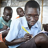 """Clement (13):<br /> """"If peace returns, I hope we can go back to the village,"""" said Clement (13). <br /> He has fled fighting in Mukaya together with his family, and found safety in Yei. <br /> """"I used to go to school there. Life was fine there, until people started fighting,"""" he added.<br /> The young boy misses the village, his home and his cattle. <br /> """"We had cattle there, but we lost them,"""" he explained."""