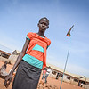 """Najema (13):<br /> """"I came here for security. People were being killed outside, in Juba. I was scared. We saw soldiers with guns. Our neighbors were killed. I was there, but we managed to escape and find protection,"""" said Najema (13). She has been living in a UN protection site in Juba since early 2014. <br /> """"I want peace to come, so that I can go back home. Maybe we can leave, if they succeed in making peace. We hear about it on the radio and my parents are saying peace may come,"""" she added. """"Peace means that we can trust each other. That there is no violence. Even the people who used to kill, they will stop when peace arrives to South Sudan."""""""