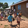 Jejira primary school in Yei, South Sudan. The school is providing education for children displaced by conflict - who have come to Yei for safety. NRC has built the school and is running the education program with support from ECHO. <br /> Photo: NRC/Tiril Skarstein