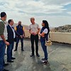 NRC Secretary General Jan Egeland at Horaira School in Wadi Barada, rehabilitated and supported by NRC's education and shelter teams.<br /> Photo: Tareq Mnadili/NRC