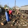Delivery of firewood to Kalynove-Popasna village