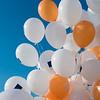 Baloons on World Humanitarian Day in Severodonetsk