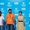 NRC staff with Deputy Governor of Luhansk oblast Olga Lishyk and OCHA representative