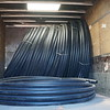 Delivery of pipes to Hirske town